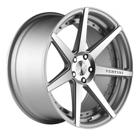 ALLOY WHEEL VERTINI DYNASTY 5X120 8.5X19 SILVER MACHINE POLISH