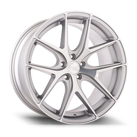 ALLOY WHEEL AVANT GARDE M580 19X8.5 5X112 ET45 SATIN SILVER POLISH 66.6<BR><BR>