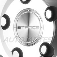 CENTRE CAP IN ALUMINIUM SILVER STANCE WHEELS