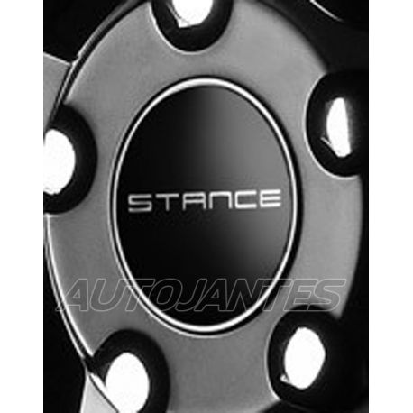 CENTRE CAP BLACK FOR ALLOY WHEELS STANCE SC-5
