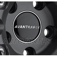 CENTRE CAP BLACK AVANT GARDE WHEELS