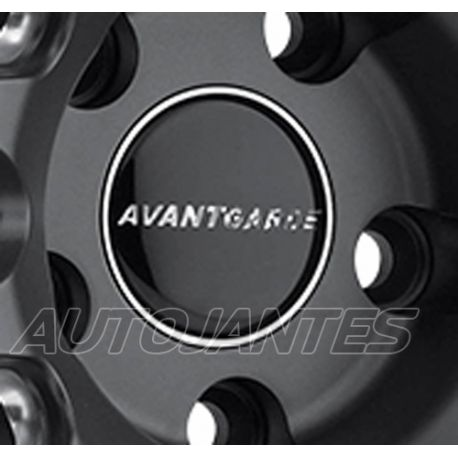 CENTRE CAP BLACK FOR ALLOY WHEELS AVANT GARDE