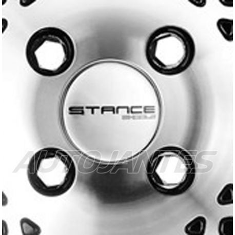 CENTRE CAP SILVER FOR ALLOY WHEELS STANCE ENCORE