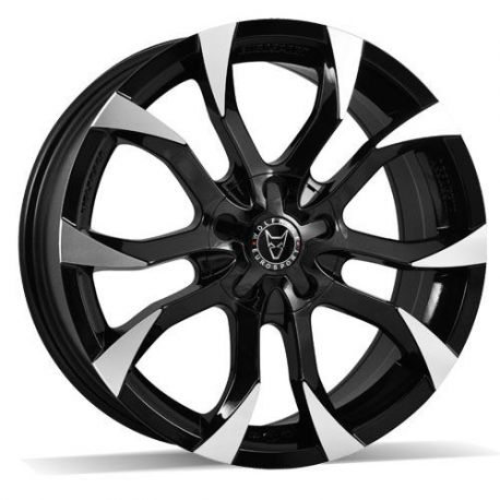 ALLOY WHEEL WOLFRACE ASSASSIN 8.5 X19 5X118 ET45 BLACK POLISH