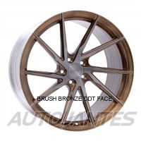 ALLOY WHEEL STANCE SF01 ROTARY FORGED DIRECTIONAL LEFT CUSTOM PAINT