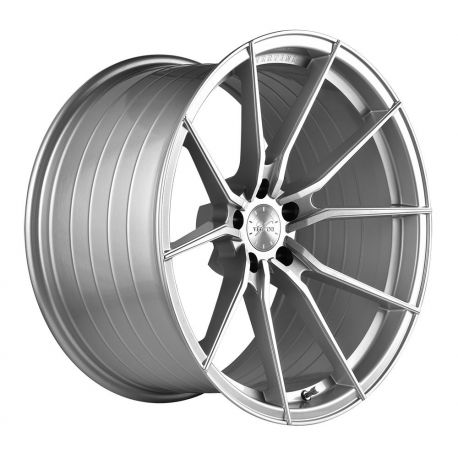 ALLOY WHEEL VERTINI WHEELS VERTINI RF1.2 ROTARY FORGED 19X8.5 5X112 ET35 SILVER BRUSH FACE 66.6