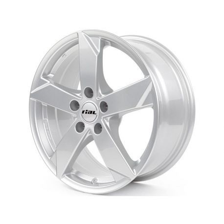 ALLOY WHEEL RIAL KODIAK 4X100 5.5X14 ET39 56.6 SILVER