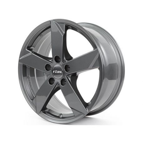 ALLOY WHEEL RIAL KODIAK 5X112 7X16 ET48 57.1 GRAPHITE