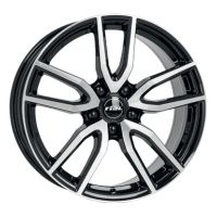 ALLOY WHEEL RIAL TORINO DIAMOND BLACK POLISHED FACE