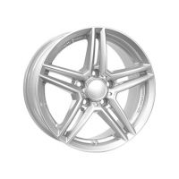 ALLOY WHEEL RIAL M10 SILVER