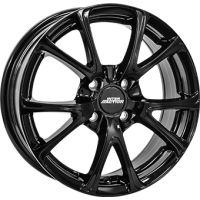 ALLOY WHEEL INTER ACTION PULSAR GLOSS BLACK