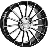 ALLOY WHEEL MONACO FORMULA BLACK POLISH