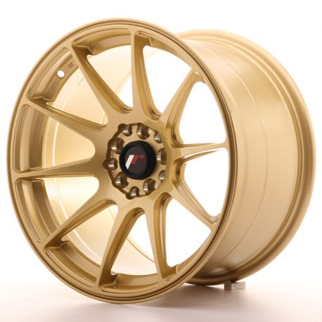 ALLOY WHEEL JAPAN RACING JR11 17X9,75 ET30 5X100/114,3 GOLD<BR><BR>BLACK FRIDAY<BR>SALE BLACK FRIDAY UNTIL THE 14 OF DECEMBER<BR>WHILE STOCKS LAST.