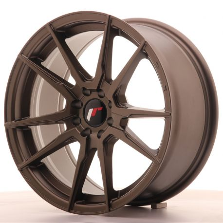 ALLOY WHEEL JAPAN RACING JR21 17X8 ET35 5X100/114 MATT BRONZE<BR><BR>SUMMER SALE<BR>UNTIL THE END OF AUGUST