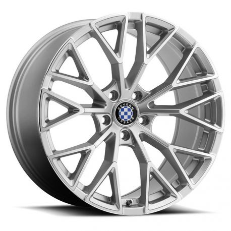 ALLOY WHEEL BEYERN ANTLER 18x9.5 5/120 ET25 CB74.1 SILVER MIRROR CUT FACE