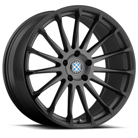 ALLOY WHEEL BEYERN AVIATIC 20x9.0 5/120 ET20 CB74.1 MATTE GUNMETAL GLOSS BLACK LIP