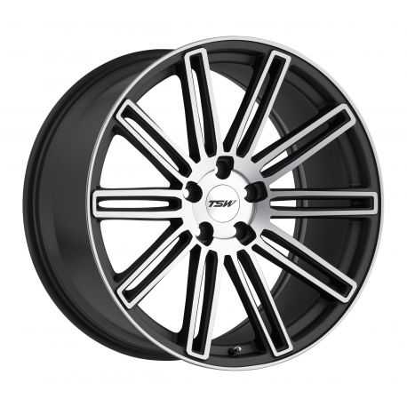 ALLOY WHEEL TSW CROWTHORNE 20x8.5 5/120 ET20 CB76.1 MATTE GUNMETAL MATTE MACHINE FACE