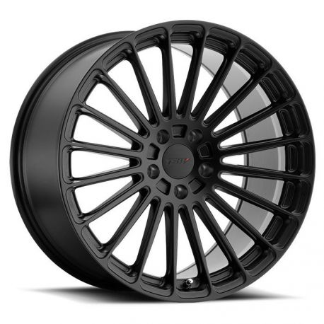 ALLOY WHEEL TSW TURBINA 22x9.0 5/112 ET35 CB66.56 MATTE BLACK