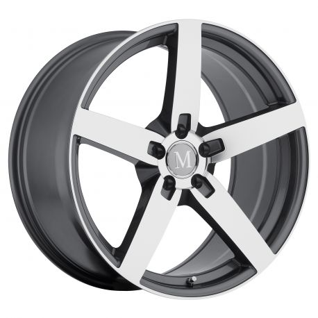 ALLOY WHEEL MANDRUS ARROW 20x10.0 5/112 ET35 CB66.56 GUNMETAL W MIRROR CUT FACE
