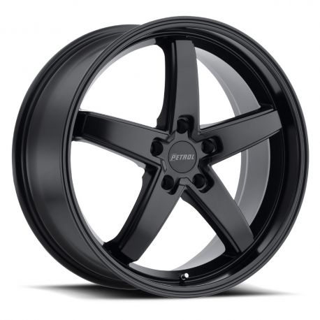 ALLOY WHEEL PETROL P1B 18x80 5/112 ET32 CB72.1 MATTE BLACK