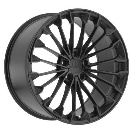 ALLOY WHEEL VICTOR EQUIPMENT WURTTEMBURG 22x9.5 5/130 ET50 CB71.6 MATTE BLACK GLOSS BLACK FACE