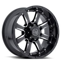 ALLOY WHEEL BLACK RHINO SIERRA