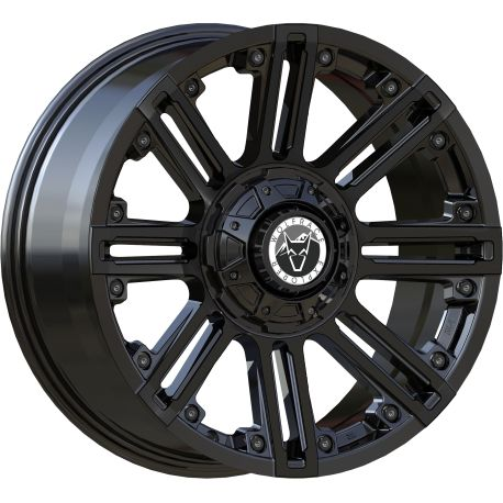 ALLOY WHEEL WOLFRACE AMAZON 5X112 9X17 ET30 SATIN BLACK 72.6