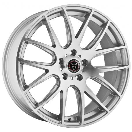 ALLOY WHEEL WOLFRACE MUNICH 2 5X120 8.5X20 ET42 SILVER POLISH 72.6