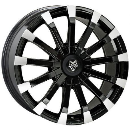 ALLOY WHEEL WOLFRACE RENAISSANCE 5X112 8.5X19 ET45 GLOSS BLACK POLISH 72.6