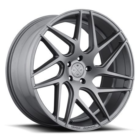 ALLOY WHEEL BLAQUE DIAMOND BD-3 10.5X22 5X112 ET30 66.6 MATTE GRAPHITE