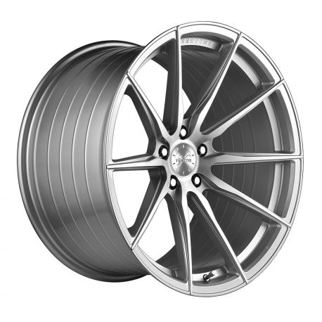 JANTE ALU VERTINI WHEELS VERTINI RF1.1 ROTARY FORGED 20X10.5 5X120 ET27 BRUSH FACE SILVER 72.6<BR><BR> SOLDE JANVIER -30%