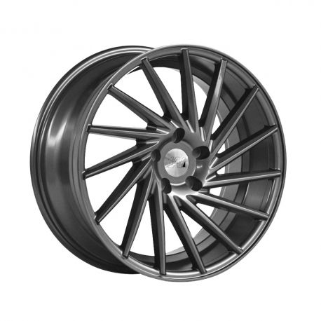ALLOY WHEEL 1AV ZX1 8X18 5X112 ET42 CB73.1 GREY