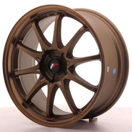 ALLOY WHEEL JAPAN RACING JR5 18X8 ET35 5H BLANK DARK ABZ