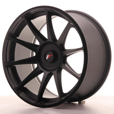 ALLOY WHEEL JAPAN RACING JR11 18X9,5 ET20-30 BLANK FLAT BLACK