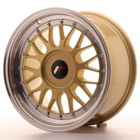ALLOY WHEEL JAPAN RACING JR23 16X8 ET20-45 BLANK GOLD
