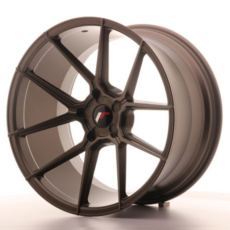 ALLOY WHEEL JAPAN RACING JR30 20X11 ET20-30 5H BLANK MATT BRON