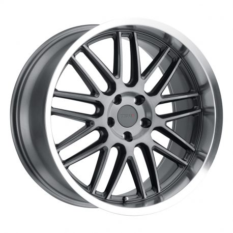 ALLOY WHEEL TSW AVALON 11X19 5X120 ET38 CB76.1 GUNMETAL W/BRUSHED GUNMETAL FACE & MACHINED LIP