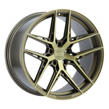 ALLOY WHEEL XO LUXURY CAIRO 5x108 9.0X20 ET35 CB76.1 BRONZE W/BRUSHED BRONZE FACE