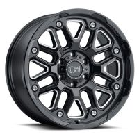 ALLOY WHEEL BLACK RHINO HOLLISTER