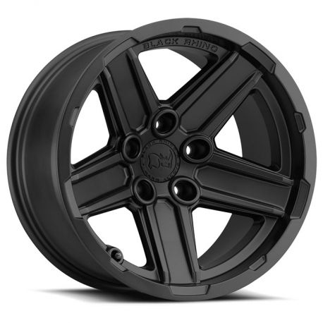 ALLOY WHEEL BLACK RHINO RECON 18x9.5 5/127 ET-32 CB71.6 MATTE BLACK